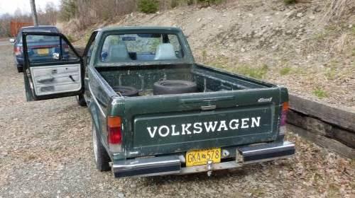 1981 Volkswagen Vw Rabbit Pickup Truck For Sale In