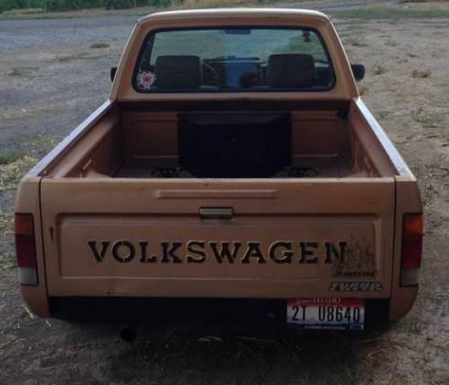 1982 VW Rabbit 1.6 Turbo Diesel Pickup For Sale in Twin ...