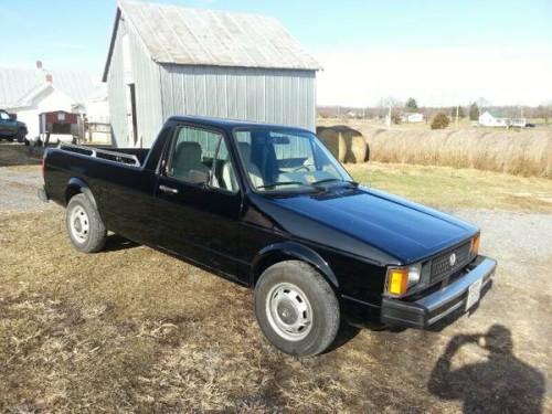 1982 Volkswagen Rabbit 2wd Diesel Pickup Truck For Sale ...