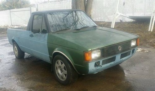 1981 volkswagen rabbit 1 6l 5 speed pickup truck for sale baltimore md. Black Bedroom Furniture Sets. Home Design Ideas