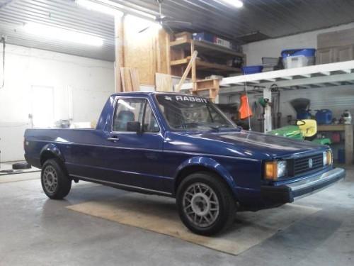 1982 volkswagen rabbit 1 6 turbo diesel pickup truck for sale denver pa. Black Bedroom Furniture Sets. Home Design Ideas