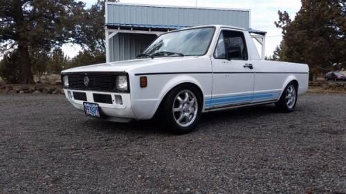 1980 Volkswagen Rabbit V4 Manual Pickup Truck For Sale