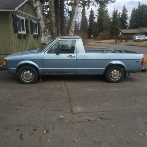 1983 Volkswagen Rabbit 1.7 Manual Pickup Truck For Sale