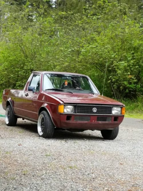 1982 Volkswagen Rabbit 1.6 V4 Manual Pickup Truck For Sale ...