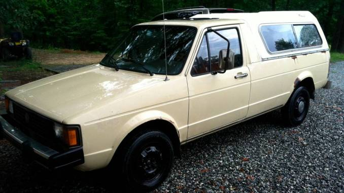 Volkswagen vw rabbit pickup truck for sale in north carolina 1982 lil rusty in snow camp nc publicscrutiny Choice Image
